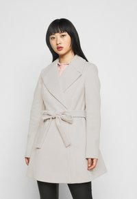 Miss Selfridge Petite - WRAP COAT - Abrigo - grey - 2