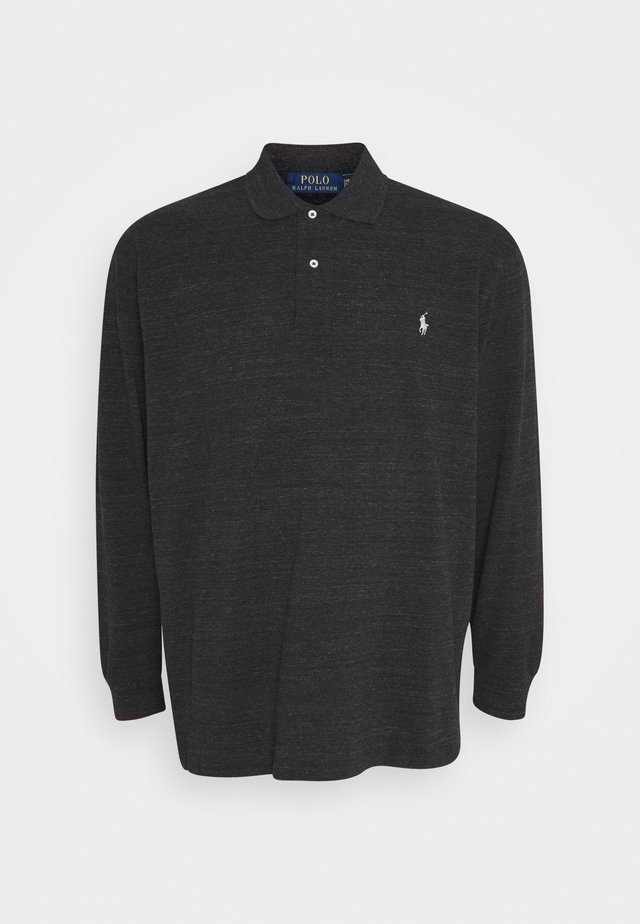 BASIC - Poloskjorter - black marl heather
