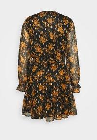 ONLY - ONLELLA DETAIL SHORT DRESS - Day dress - black - 1