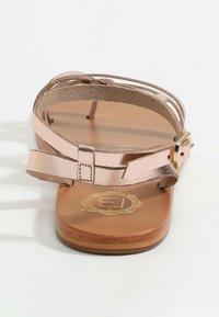 Les Bagatelles - AGHAVILLA - T-bar sandals - rose gold - 2