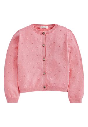 BOBBLE CARDIGAN (3MTHS-7YRS) - Vest - pink