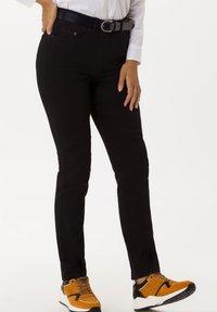 BRAX - STYLE LAVINA - Slim fit jeans - black - 4