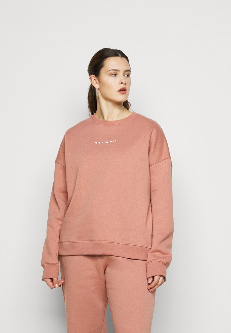 Missguided Plus - BASIC  - Sweatshirt - mauve