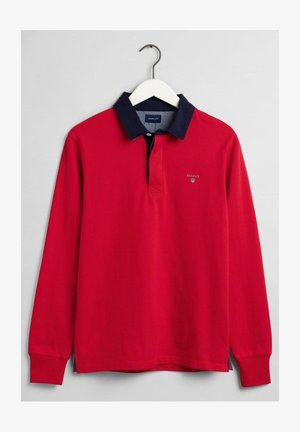 MIT POLO KRAGEN - Polo shirt - red