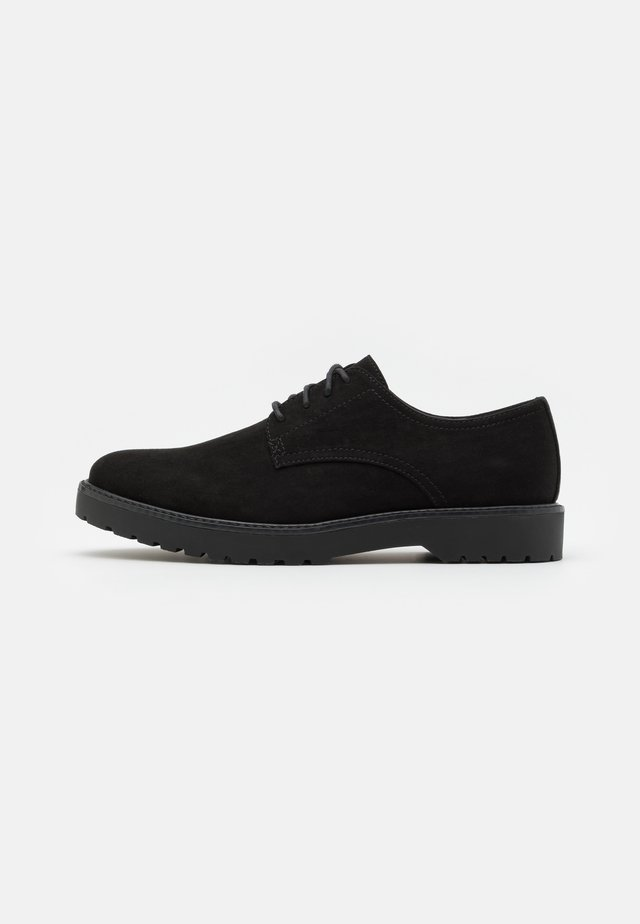 UNISEX - Veterschoenen - black
