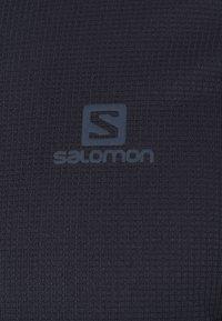 Salomon - AGILE TEE - Camiseta de deporte - night sky - 2