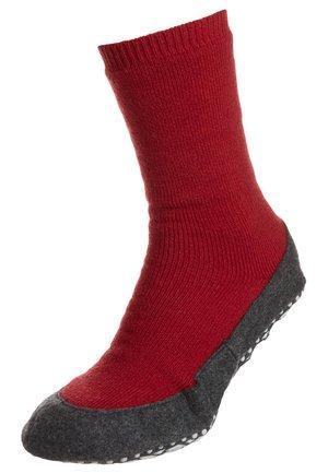 FALKE Cosyshoe Hausschuhe - Socks - rot