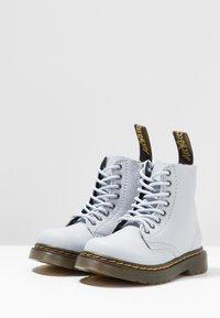 Dr. Martens - PASCAL MONO J - Lace-up ankle boots - bluemoon - 3