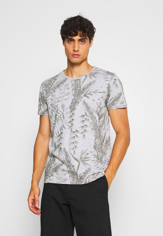 BOCKING - Print T-shirt - light grey
