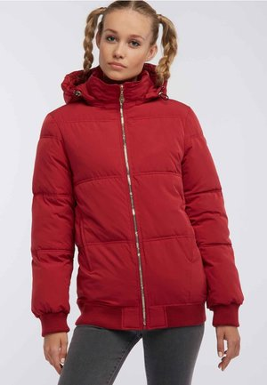 Winter jacket - dark red