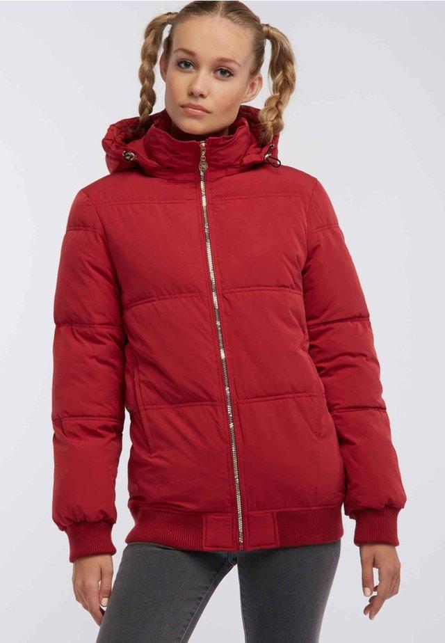 Kurtka zimowa - dark red