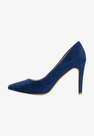 CARLA - Escarpins à talons hauts - dark blue