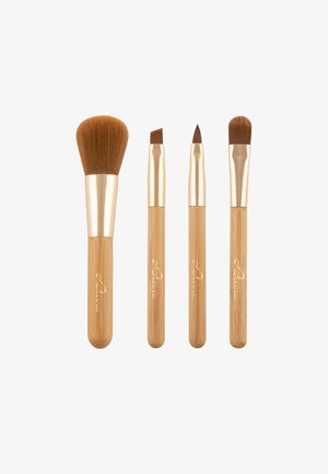 TRAVEL BAMBOO TUBE - Makeup brush set - -