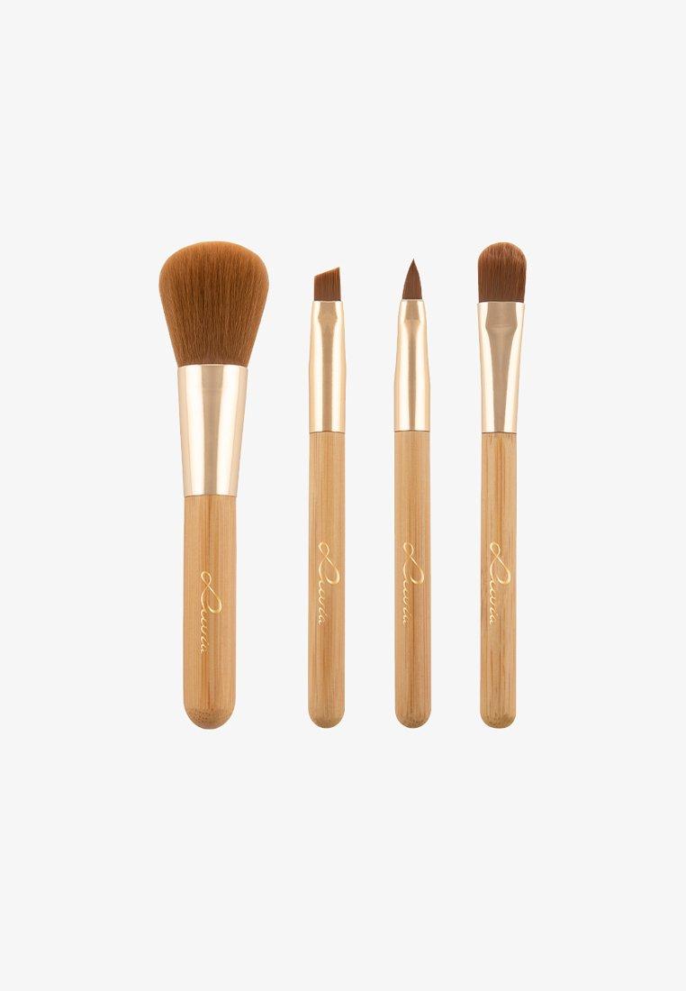 Luvia Cosmetics - TRAVEL BAMBOO TUBE - Set de brosses à maquillage - -