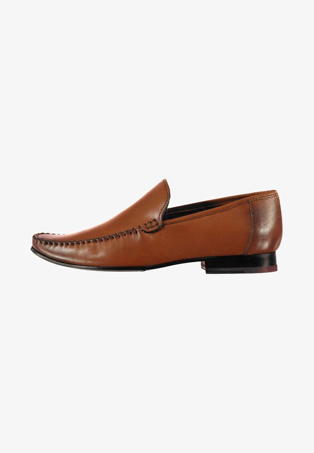 HAMPTON - Slip-ons - brown