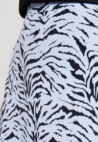 KIOMI - Maxi skirt - light blue/dark blue - 4