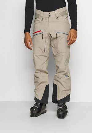 MEN'S BACKSIDE PANTS - Pantalón de nieve - tan