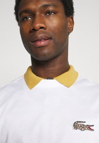 Lacoste - LACOSTE X NATIONAL GEOGRAPHIC - Long sleeved top - white - 3