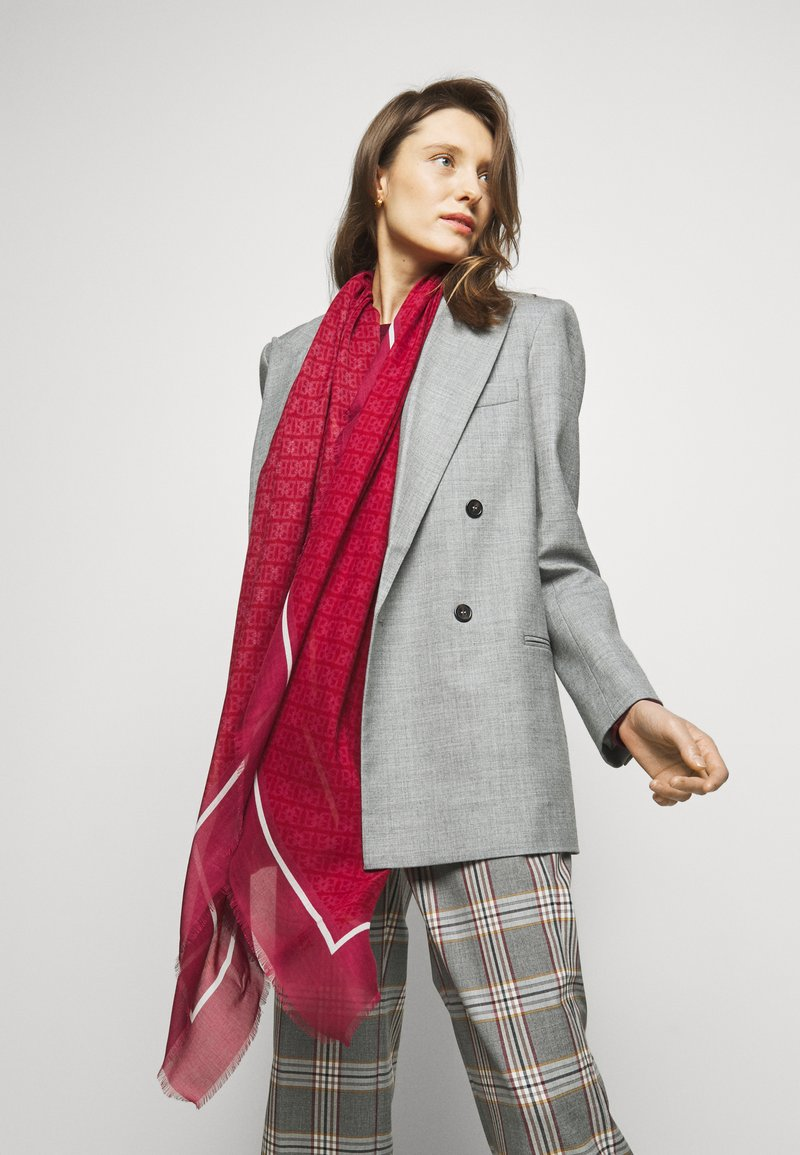 Bally - CHAIN PRINTED STOLE - Foulard - passion