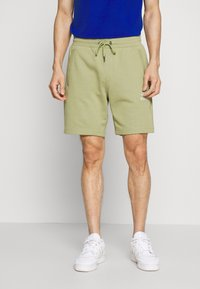 Tommy Hilfiger - BASIC EMBROIDERED  - Shorts - green - 0