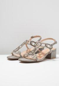 Alma en Pena - Højhælede sandaletter / Højhælede sandaler - oporto pewter - 4