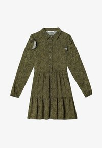 Stradivarius - Day dress - dark green - 4