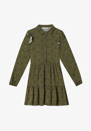 Day dress - dark green