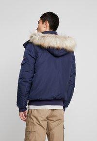 Tommy Jeans - TECH JACKET - Winter jacket - black iris - 2