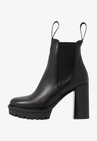 KARL LAGERFELD - VOYAGE GORE BOOT - High heeled ankle boots - black - 1