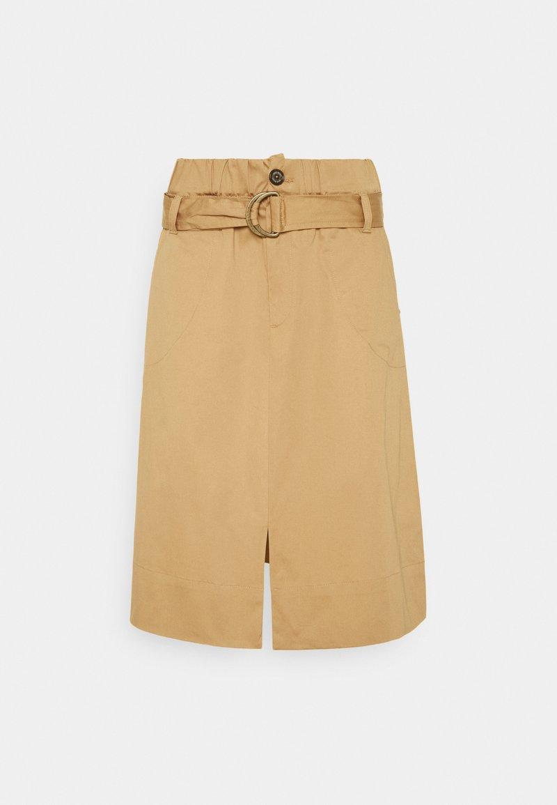Mos Mosh - AVIA COLE SKIRT - A-line skirt - new sand