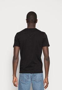 TOM TAILOR - 2 PACK - Basic T-shirt - black - 2