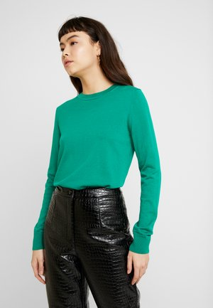 CREW SOLIDS - Jumper - kelly green