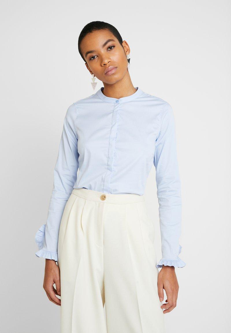 Mos Mosh - MATTIE  - Button-down blouse - light blue