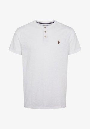 BARKER - T-shirt - bas - white