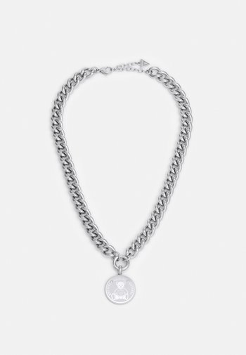 VINTAGE BEAR - Necklace - silver-coloured