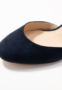 Anna Field - LEATHER - Tacones - dark blue - 2