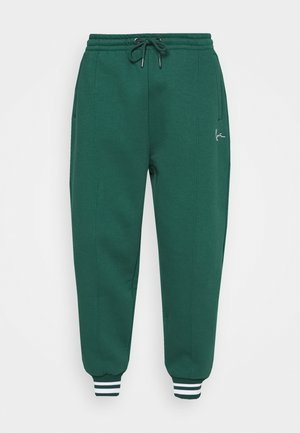 SIGNATURE - Tracksuit bottoms - green