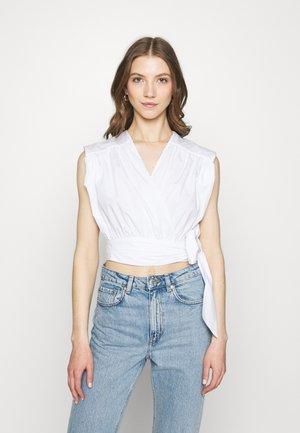 KELLY BLOUSE - Print T-shirt - white