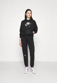 Nike Sportswear - AIR  - Hoodie - black/white - 1