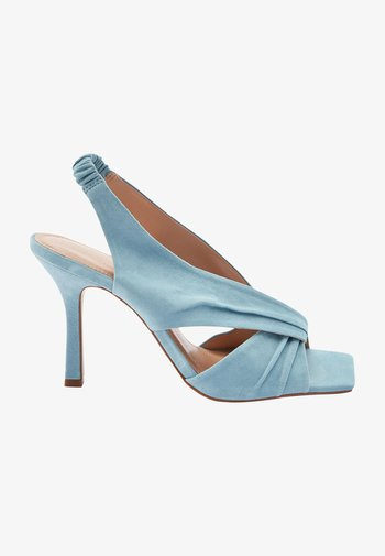SIGNATURE  - High heeled sandals - blue