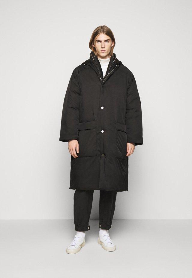 LONG COAT - Cappotto invernale - black
