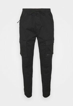 JOGGER - Pantalon cargo - new black