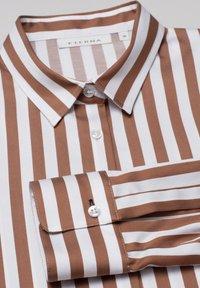 Eterna - Button-down blouse - braun weiß - 5