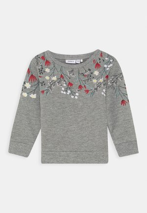 NMFKALLA  - Sweater - grey melange