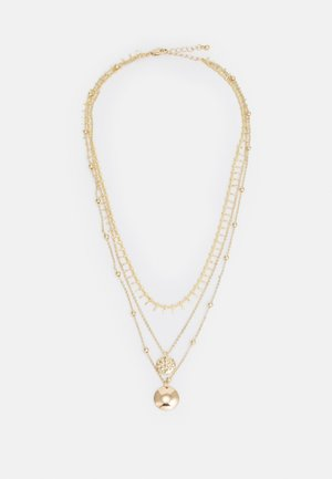 PCKEISE NECKLACE - Necklace - gold-coloured