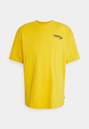 TEE BUD UNISEX - Printtipaita - yellow