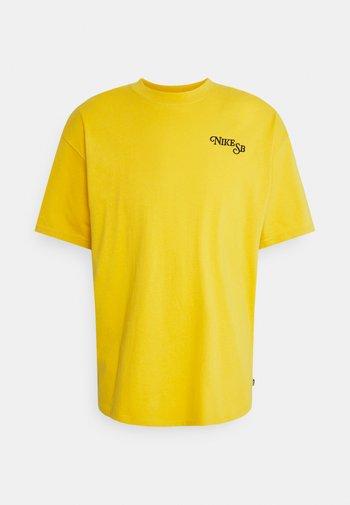 TEE BUD UNISEX - T-shirt med print - yellow