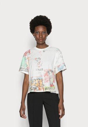 VINTAGE COMIC - Print T-shirt - white
