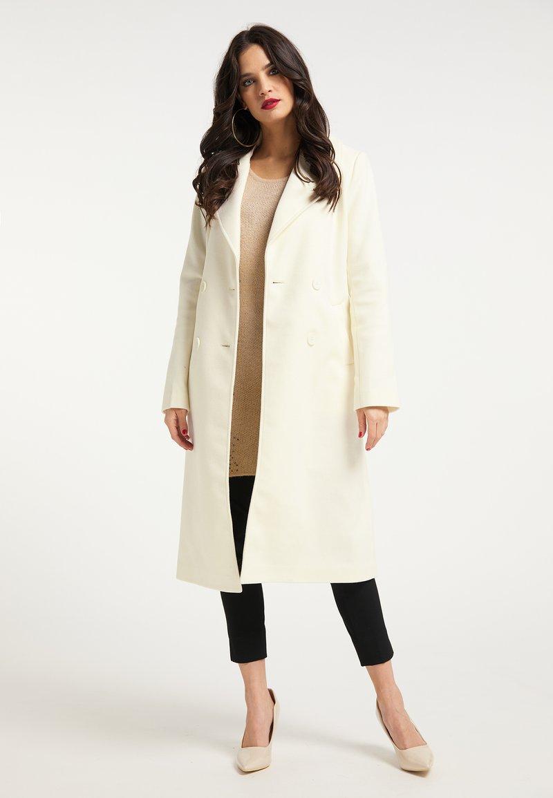faina - Classic coat - wollweiss