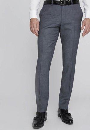 SPLIT BUCK SPLIT - Suit trousers - blue